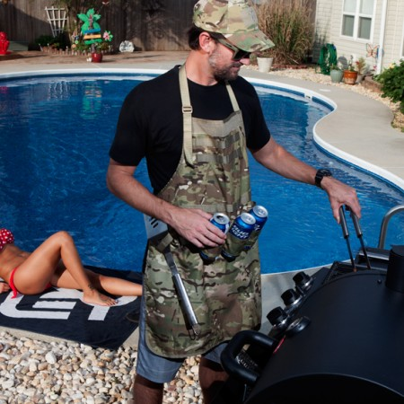 Tactical Grilling Kit MultiCam Poolside