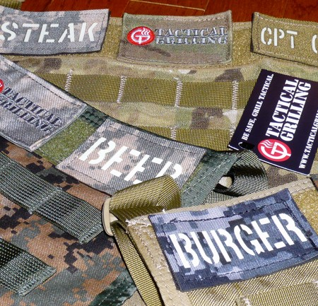 Tactical Grilling Patches